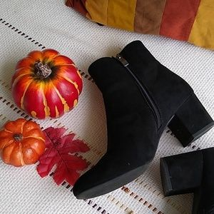 🍁Suede Ankle Boots🍂